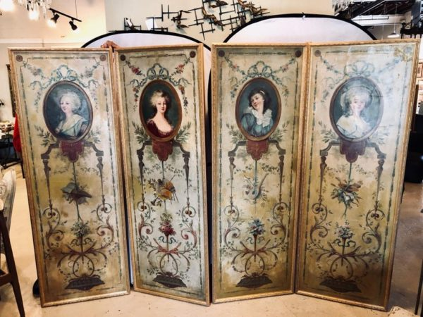 French Wall Panel Decorations